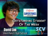 David Lim, West Ranch: SCVTV/California Superstores Outstanding Student of the Week