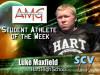 Luke Maxfield, Hart: SCVTV/AMG Student Athlete of the Week