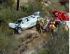 1 Dead, 1 Alive at Week-old Crash Site on Lake Hughes
