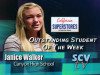 Janice Walker, Canyon: Outstanding Student of the Week