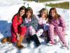 Saugus Students Play in Snow, Help Food Pantry