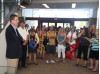 Teachers Get Sneak Peek at New Old Newhall Library