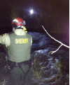 Daring Creek Rescue in Pyramid Gorge Saves Stranded Hunter