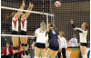 Master's Volleyball Team Rolls Past Redlands Tuesday