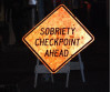 Sheriff's Deputies Holding DUI Checkpoint Friday Night