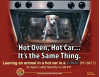 Posters at Valencia Mall to Warn Against Leaving Pets in Cars