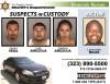 Burned-Body Victim Identified; 3 in Custody