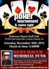 Poker Night to Help Struggling Military Vets