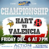 Roundup: Hart, Valencia Clash for CIF Title