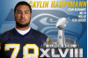 Seahawks' Hauptmann to Rep COC in Super Bowl