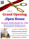 Ceramics Studio Opening in Newhall; Classes Offered