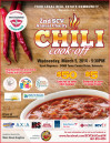 March 5: 2nd Annual Charity Chili Cook-Off