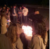 Friends, Family Hold Vigil for Teen Killed on Freeway