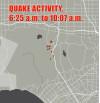 4.4 Quake Rattles Encino Area, Smaller Ones Follow