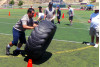 Football Linemen Face Off at Saugus High