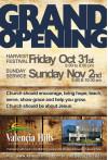 Nov. 2: Valencia Hills Community Church Hosts Grand Opening