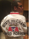SCV Teen is a State Taekwondo Champ