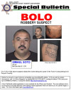Wanted: Info on Suspect in Canyon Country Crimes