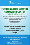 Dec. 3: Tell City What You Want from New Community Center