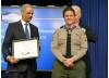 Hero Deputy Receives Valor Medal from VP Biden