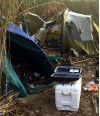 Enforcement Operation Targets Local Transient Camps