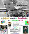 """May 3: """"Art for Jack"""" Music and Art Festival for Children"""