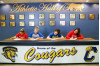 COC Volleyball Team Has Four Players Sign National Letters of Intent