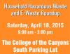 Too Toxic to Trash: Hazardous Waste Roundup April 18
