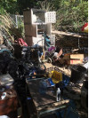 3 Hobo Camps Cleaned Out Monday in Newhall