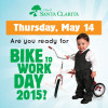 May 14: Ride Your Bike to Win