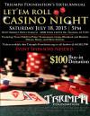 Save the Date for Triumph Fdn.'s 6th Annual Casino Night