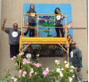 Students Unveil Anti-Drug Mural at Golden Valley High