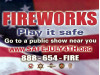 Officials: Stick to Legal Fireworks Shows, Stay Safe, Avoid Wildfires, Fines