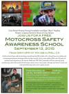 Sept. 13: Cory Tarrant Fdn. Hosts Motocross Safety School