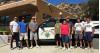 CHP Explorers Help Sam Dixon Employees Paint Val Verde Clinic