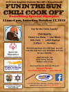 Oct. 17: LASD Chili Cookoff for Special Olympics