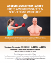 Assemblyman Tom Lackey to Host Women's Safety Workshop