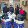 Action, KHTS Donate to Homeless Shelter