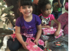 Business Owner Donates Gifts to Homeless Children