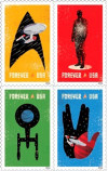 'Star Trek' Among New Postage Stamps Coming in 2016