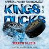 Kings, Ducks Ante Up for 5th Alumni Charity Poker Tourney