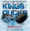 Kings, Ducks Ante Up for 5th Alumni Charity Poker Tourney