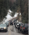 Snow Brings Traffic, Trash and Off-ramp Closures