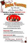SCV Men of Harmony Sing for Valentine's Day, Celebrate 40 Years