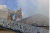 Fire Engulfs Canyon Country Apartment