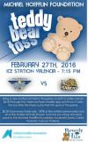 Feb. 27: Valencia Flyers Hockey Hosting Teddy Bear Toss