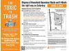 April 2: Dispose of Hazardous Waste at COC