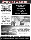 April 12: History of Acton-Agua Dulce Presented by Acton Historical Society