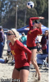 USC's Martin, Wheeler Named Pac-12 Beach Volleyball Pair of Week
