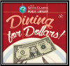 April 12: Dining for Dollars to Raise Money for Local Libraries